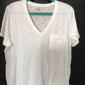 Madewell cotton v-neck T-shirt